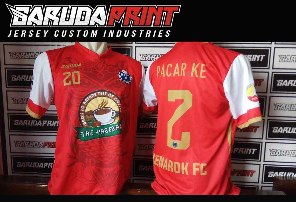 bikin jersey sepak bola printing