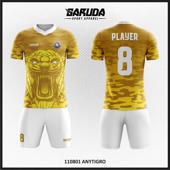 desain baju futsal harimau
