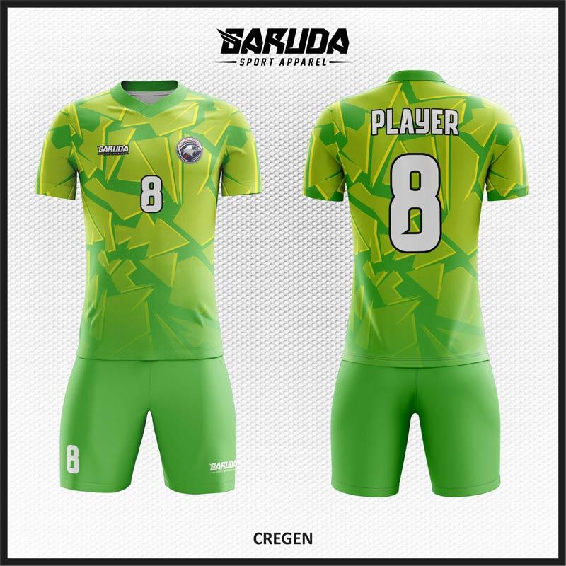 desain jersey futsal hijau muda