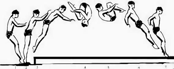 salto depan