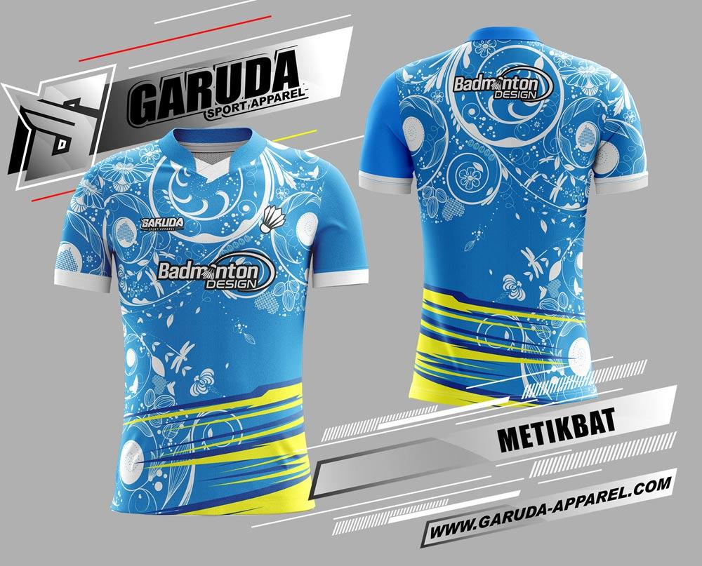desain baju badminton