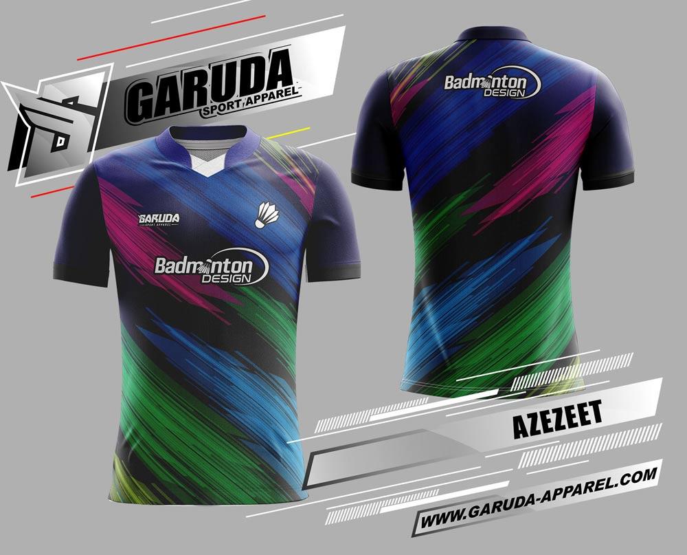 desain jersey badminton