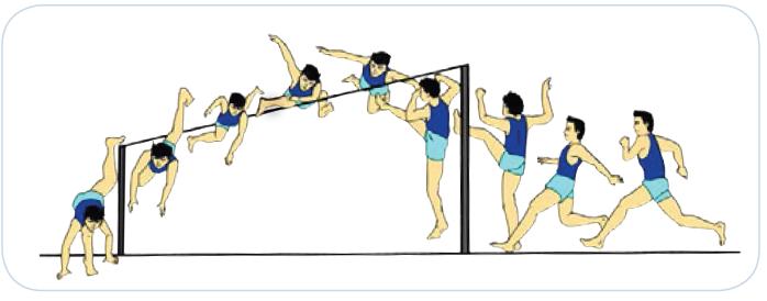 Lompat-Tinggi-Gaya-straddle
