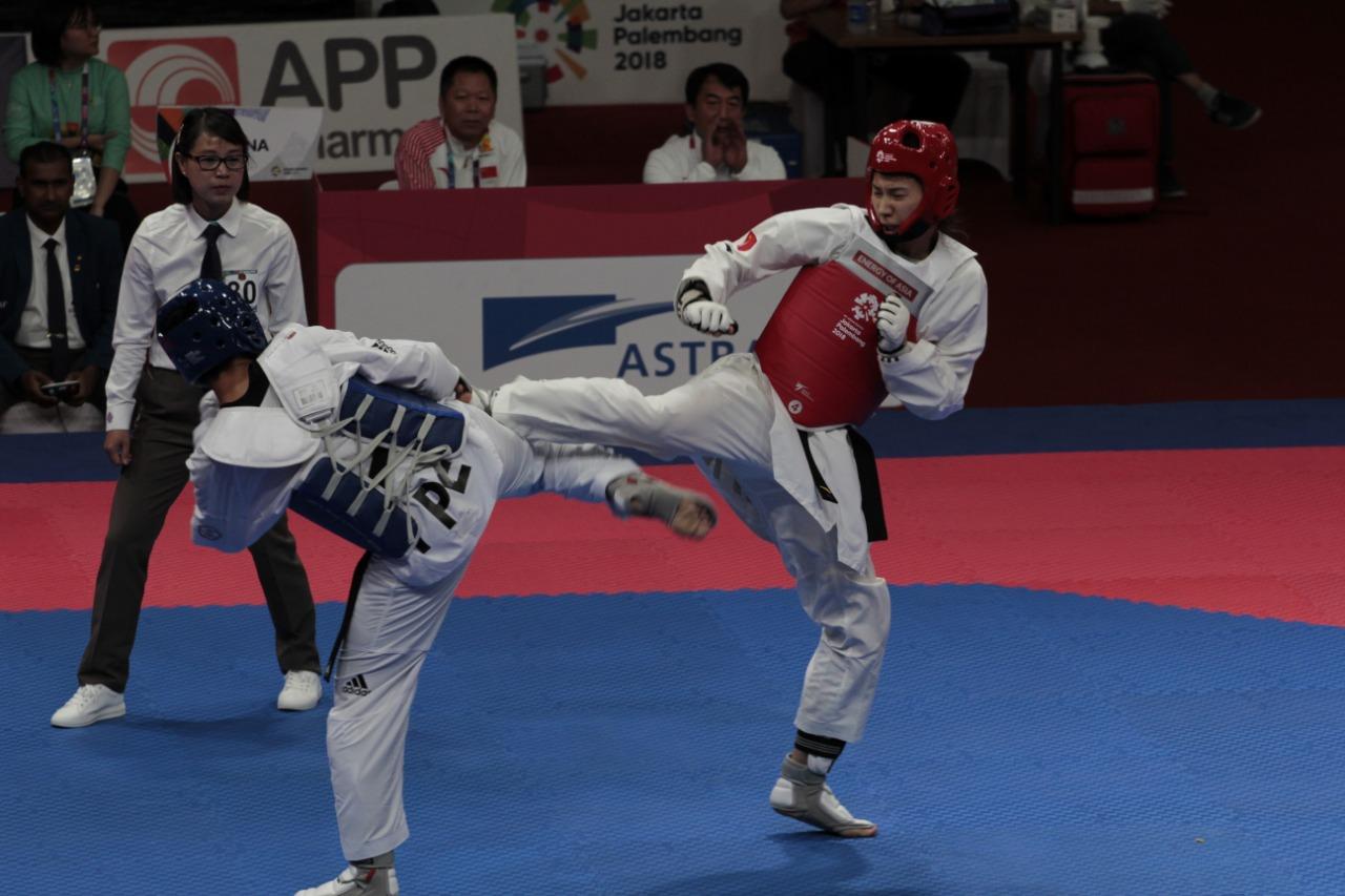 tendangan taekwondo